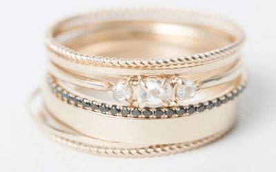 Monday Musings Stacking Wedding Rings – Let's Talk About a Growing Trend