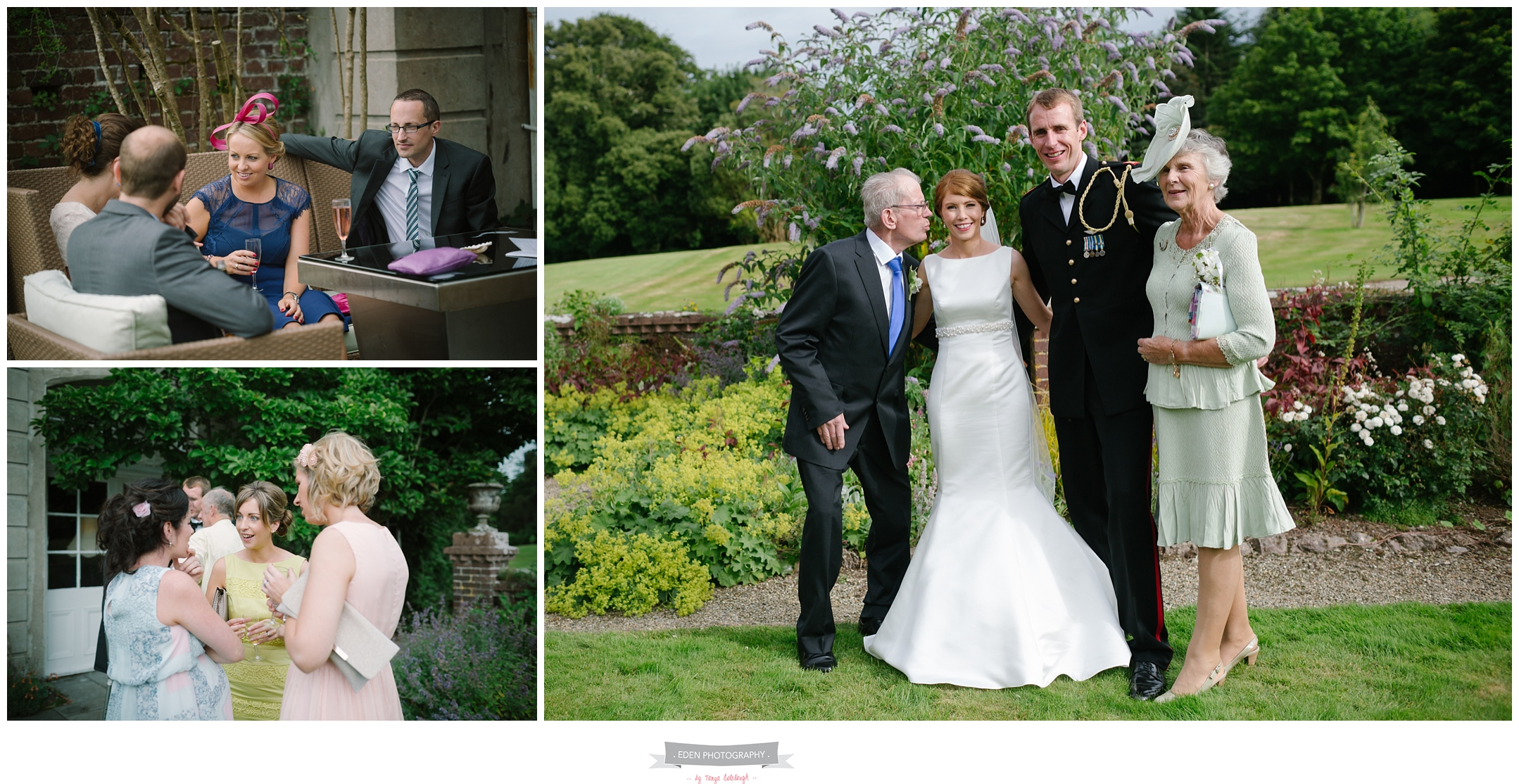 natural wedding photographer wexford