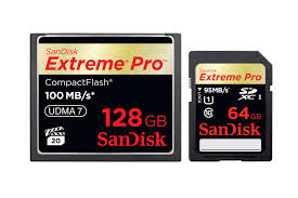 Extreme CF and SD Cards