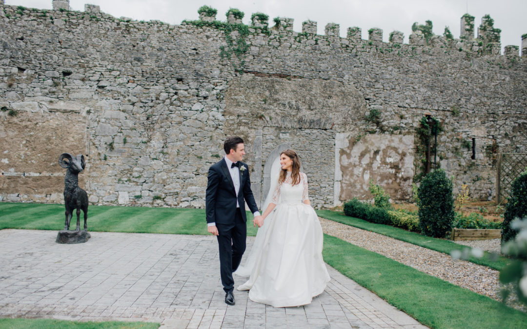 Romantic Black Tie Castlemartyr Resort Wedding