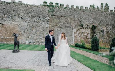 Romantic Black Tie Castlemartyr Resort Wedding