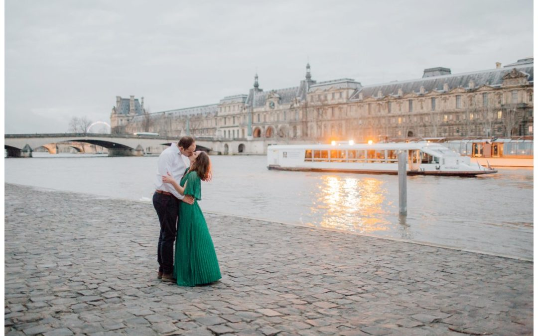 Stylish Paris Couples Session