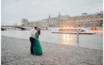 Stylish Paris Couples Session