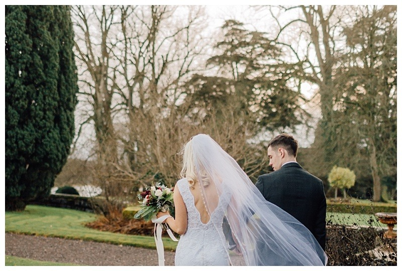 Leading Lady – Claire and Cahal's winter wedding at Castle Leslie