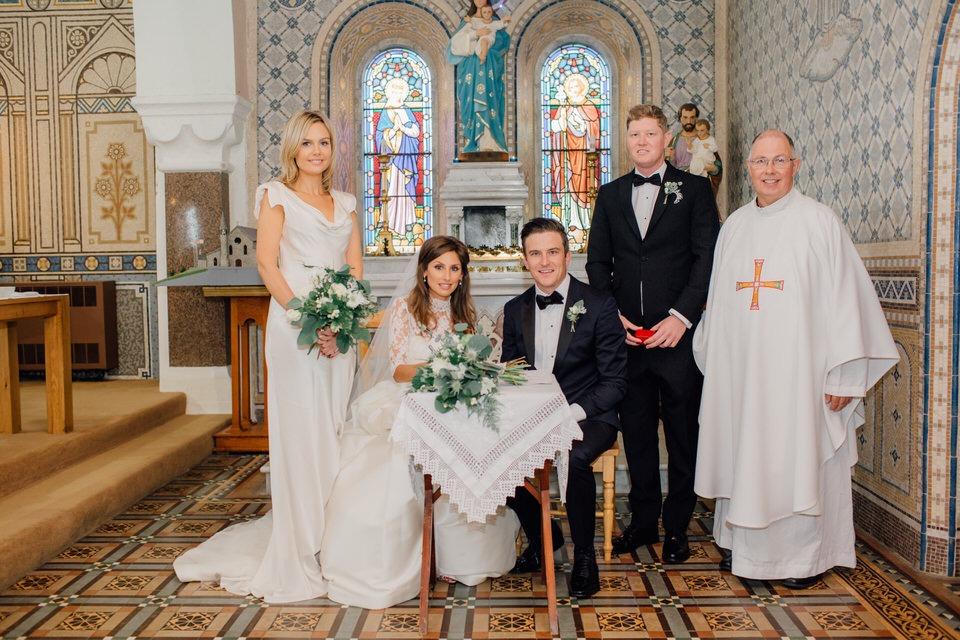 ballycotton church wedding images