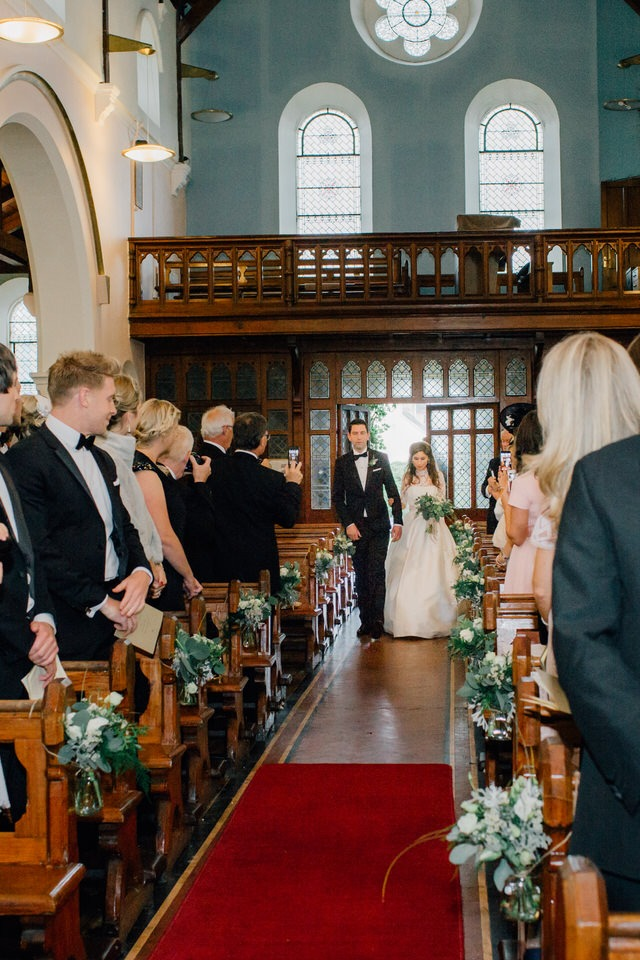 ballycotton church wedding images