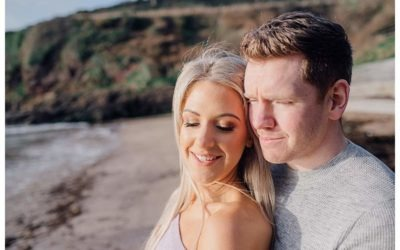 Dunmore East Beach Engagement Session – Barbara & Paul