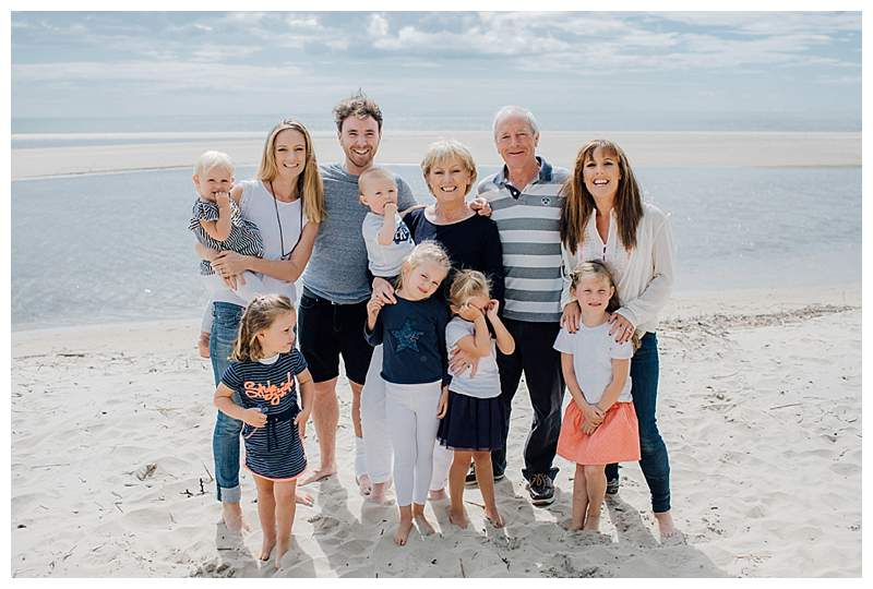 Family Beach Session in Wexford