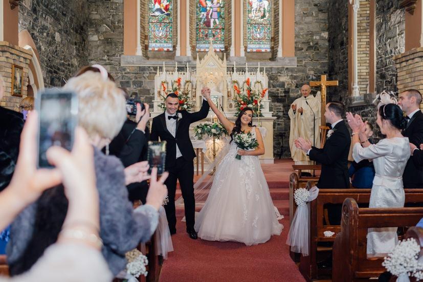 knightsbrook real wedding