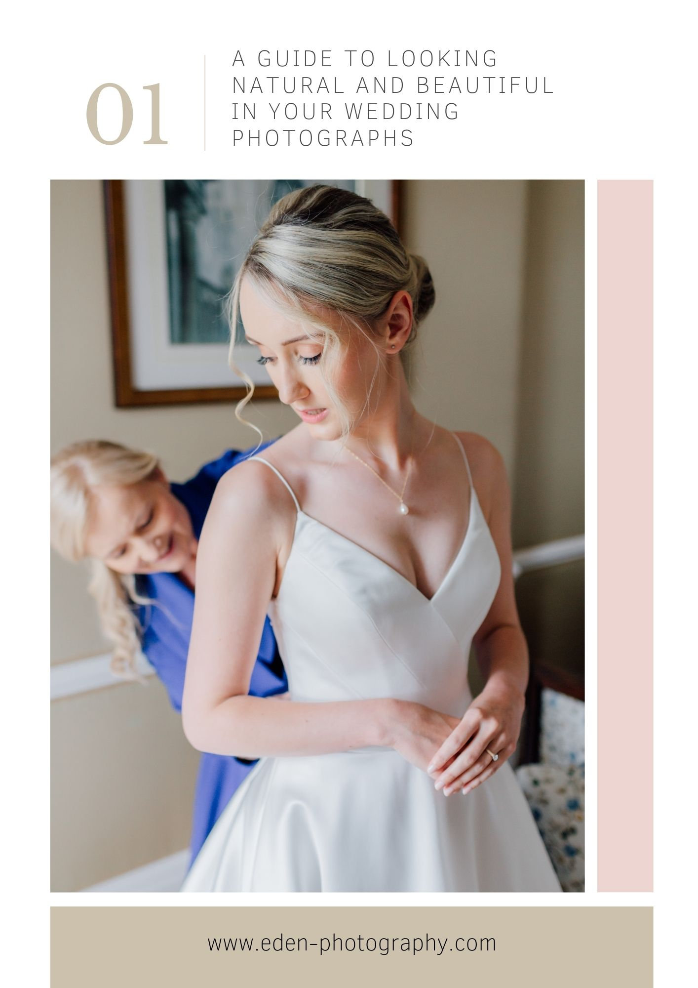 how-to-look-good in-your-wedding-photographs