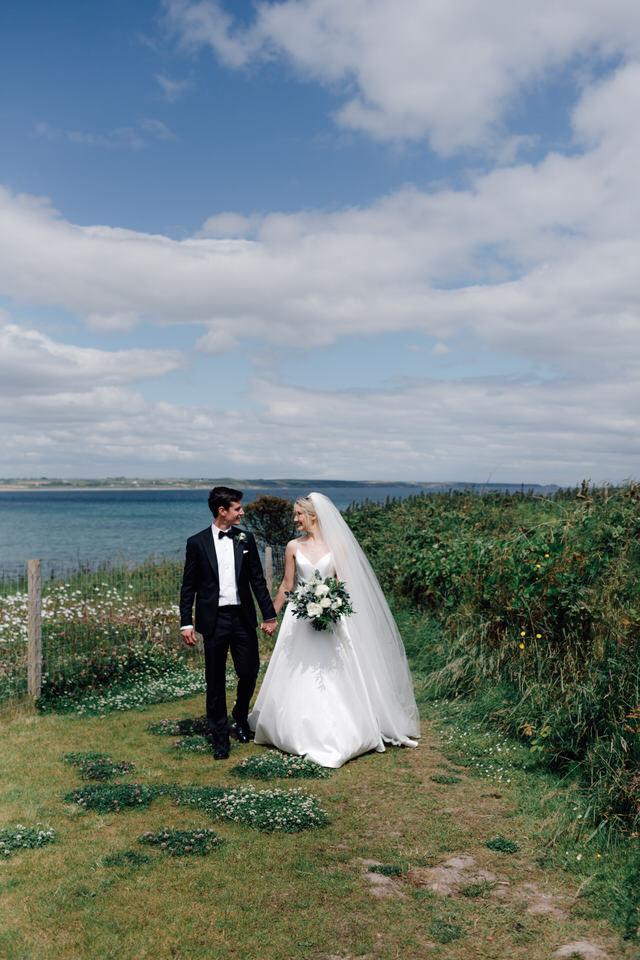 intimate castle wedding cork