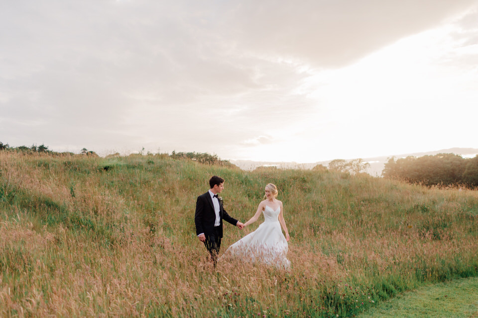 Intimate Outdoor Wedding in Kerry – Sheen Falls Lodge