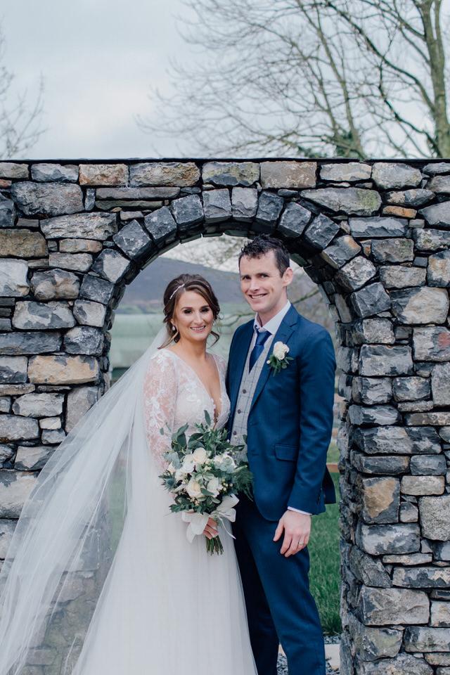 hotel minella wedding, intimate winter wedding